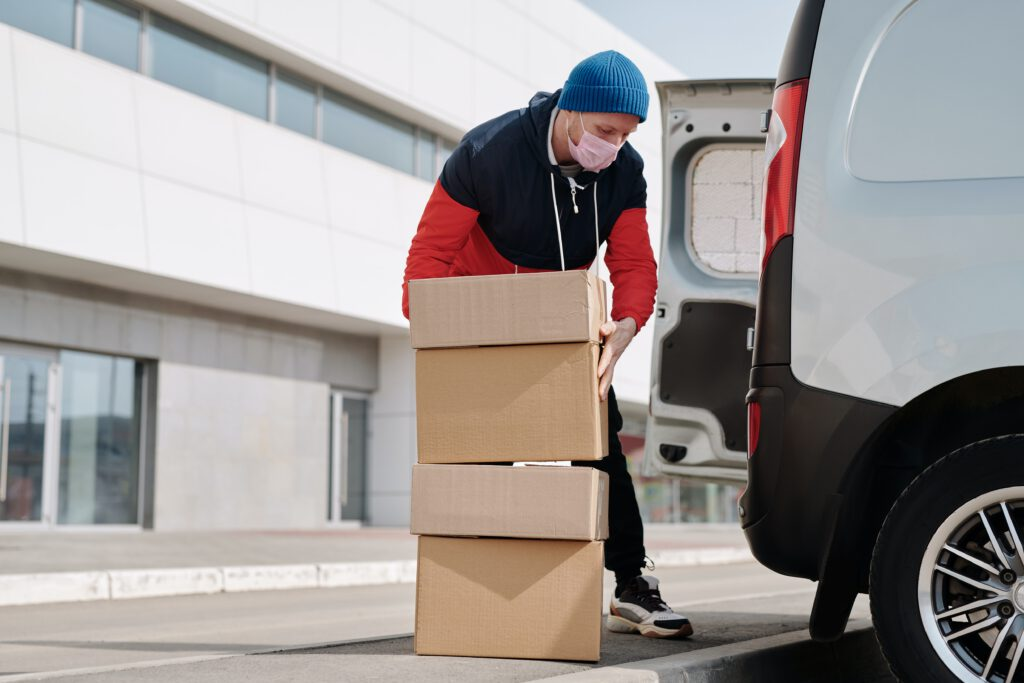 kartonnen dozen Logistiek Direct